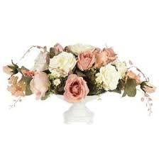 """<b>Декоративные цветы</b> """"<b>Розы</b> и лилии"""" в керамической вазе ..."""