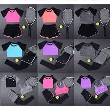 New 2 Pcs <b>Women Yoga Set Fitness</b> Clothing Sportswear For ...
