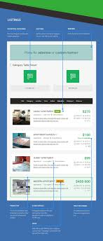 real estate classifieds joomla template joomla monster classifieds blog and smart table view classifieds category view