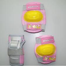 <b>Защита роликовая MaxCity</b> Little Rabbit, размер М, pink — купить ...