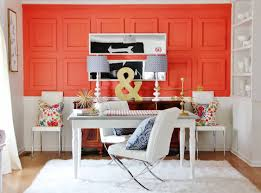 voguish charming office wall color ideas
