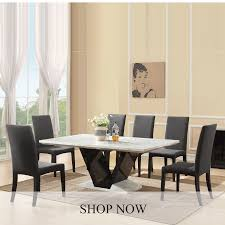 Marble Dining Room Sets Marble Dining Tables And Chairs Furniture In Fashion