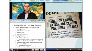 chapter managing the great depression forging the new deal video lecture 77 the new deal arrives