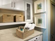 laundry room accessories chic laundry room