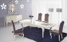 Fabric Chairs Dining Room Dinning Room Attractive Fabric Upholstered Modern Dining Room