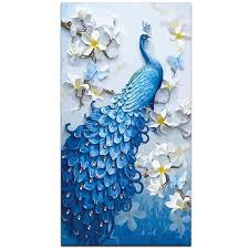 Stunning <b>Peacock DIY</b> Painting – Paint by Numbers Home