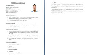 curriculum vitae word resume samples and writing guides for all adjunto el cv en formato word click for details plantillas curriculum 88p179rf