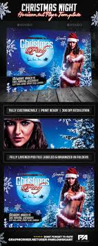 best ideas about flyer design templates flyer christmas night party horizontal flyer template