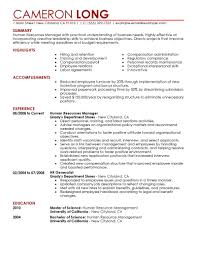 examples of senior hr resumes sample sample resumes human resume objective