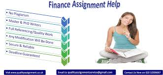 finance assignment help by top experts from uk quality assignment why us