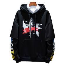 <b>Men Sweatshirt Hooded Autumn Hoodie</b> Baggy Long Sleeve Casual ...