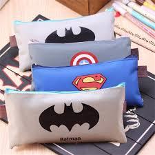 (<b>1Pc</b>/<b>Sell</b>) <b>Superman Comic Hero</b> Pencil Case School Supplies ...