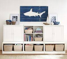kids storage wall systems pottery barn kids childrens storage furniture playrooms