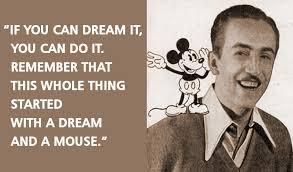 Walt Disney Quotes About Dreams. QuotesGram via Relatably.com