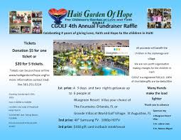 gardenofhope org cgolf 4th annual fundraiser cgolf 4th annual raffle flyer 2016
