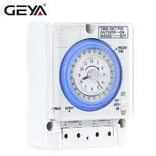 <b>GEYA SUL181h</b> 220V Time Switch 24 Hours Mechanical ...