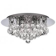 hanna flush crystal light for low ceilings ip44 astro lighting evros light crystal bathroom