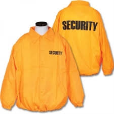 Windbreaker with Security I.D. - <b>Orange</b>, <b>Fluorescent Orange</b> ...