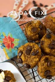 21 Day Fix Pumpkin Muffins - Carrie Elle