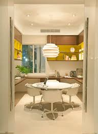 modern home office as a new interior inspiration home office space for entire family with bright modern office space
