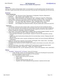 qtp testing resume manual testing resume for years experience web testing resume resume example java developer best java manual testing resume samples 2 years experience