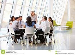 business people having board meeting in modern office business office modern