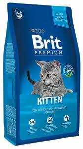 <b>Корм</b> для котят <b>Brit Premium</b> с курицей, с лососем — купить по ...