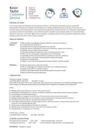 customer service resume templates  skills  customer services cv    customer service resume