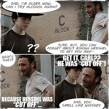 Cassie Carnage's House of Horror: Top 17 Funniest Walking Dead ... via Relatably.com
