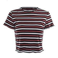 90's <b>Multi Stripe</b> T-shirt   Bohemian Shrine