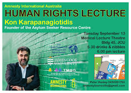 human rights lecture jcu invitation to amnesty international human rights lecture