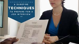 surefire techniques to prepare for a job interview meritude 6 surefire techniques to prepare for a job interview