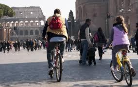 bicicletta a Roma