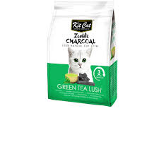<b>Kit Cat Zeolite</b> Charcoal Cat Litter – Green Tea – PETFOLIO