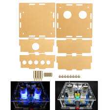 <b>3pcs Transparent Acrylic</b> Housing <b>Shell</b> For 6J1 Tube Preamplifier ...