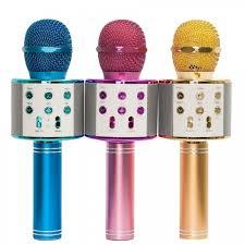 Беспроводной <b>караоке</b> микрофон <b>Handheld</b> WS-858 (Bluetooth ...
