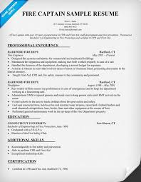 firefighter resume samples   eager world    firefighter resume samples   fire captain or firefighter resume example free download