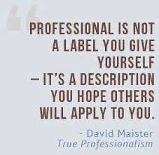 Image result for professional quotes