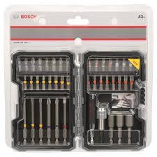 <b>Набор бит</b> BOSCH Extra Hard 25-75 мм <b>43</b> шт купить по цене ...