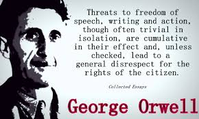 some of george orwell s most startling quotes artwork books orwell essays