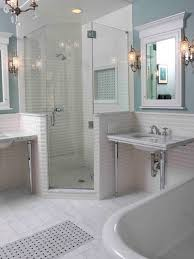 layouts walk shower ideas: glass enclosed shower corner shower space saving glass enclosed shower