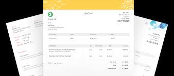 invoice templates from zoho invoice customise your invoices invoice templates