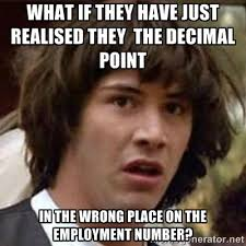 what if they have just realised they the decimal point in the ... via Relatably.com