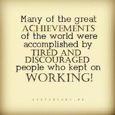 Work Achievement Quotes. QuotesGram via Relatably.com