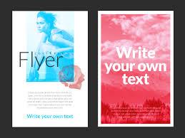 flyer vector graphics to creative artistic flyer maker