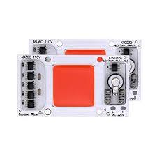 2PCS LED Chip 50W 110V Plant Grow Light Full ... - Amazon.com