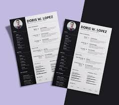 simple professional resume cv design template for simple professional resume cv design template for designer developer sketch file