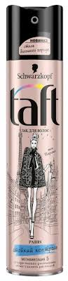 Taft <b>Лак для волос</b> Стиль большого города Paris Стойкий ...