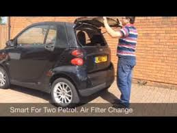 <b>Smart Car Air</b> Filter Change - YouTube