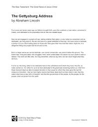 gettysburg address worksheet elementary   worksheets for educationprintable gettysburg address